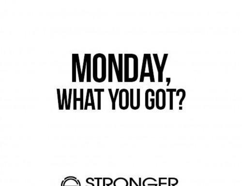 Motivating the Monday
